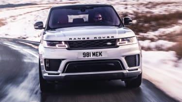 Range Rover Sport HST - full front action