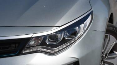 Kia Optima PHEV - front light detail