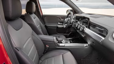 Mercedes-AMG GLB 35 - front seats
