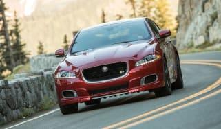 Jaguar XJR front action