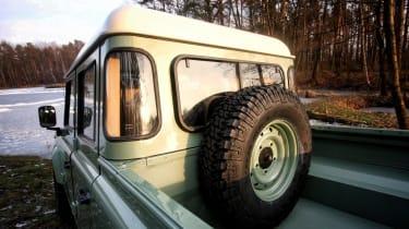 Land Serwis rear windows