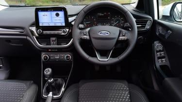 Ford Fiesta - steering wheel