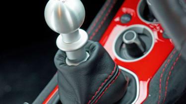 Lotus Evora 410 - gearstick