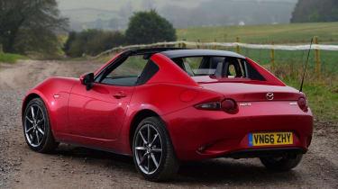 Used Mazda MX-5 - rear