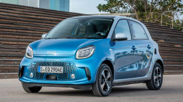 Smart EQ ForFour - front static