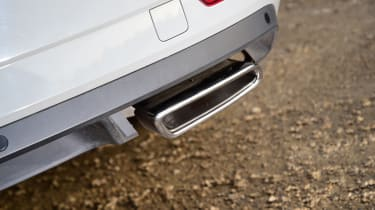 Skoda Superb Sportline - exhaust