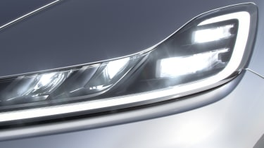 Faraday Future FF91 - front light detail