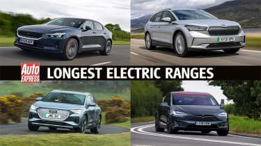 Longest electric ranges - header