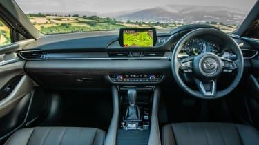 New Mazda 6 2018 facelift review cabin