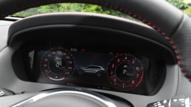 Jaguar F-Pace SVR - instruments