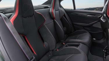 BMW M5 CS - rear seats