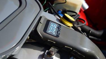 Ford Escort XR3 - engine detail