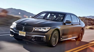 BMW 7 Series 760Li - front tracking 2