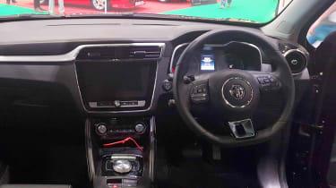MG ZS EV - London Motor Show dash