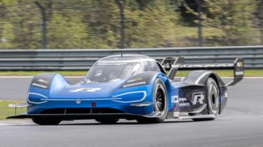Volkswagen ID. R - Nurburgring front cornering