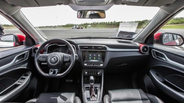 New MG ZS SUV 2017  dash