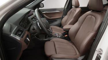 BMW X1 2015 interior