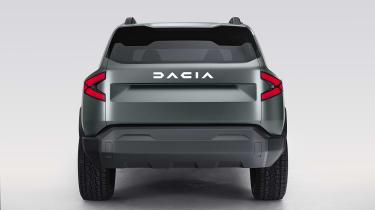 Dacia Bigster - rear