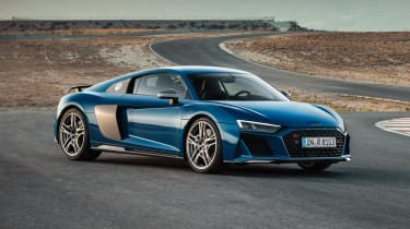 Audi R8 - front static
