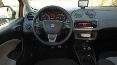2012 SEAT Ibiza interior