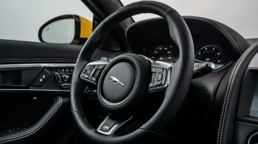 2020 Jaguar F-Type - steering wheel