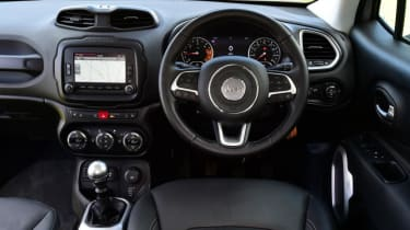 Used Jeep Renegade - dash