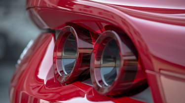 Ferrari 812 Superfast - rear light detail