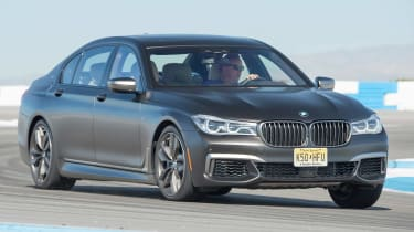 BMW 7 Series 760Li - front cornering track