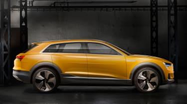 Audi h-tron concept - side profile