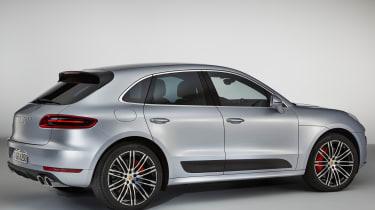 Porsche Macan Turbo Performance Pack - rear quarter