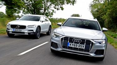 Audi A6 Allroad vs Volvo V90 Cross Country - head-to-head