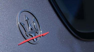 Maserati Quattroporte Trofeo - Maserati badge