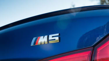 BMW M5 - badge