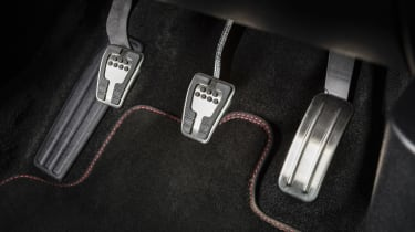 New Ford Fiesta ST-Line - pedals
