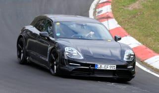 Porsche Taycan Sport Turismo - spyshot 1