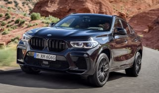 BMW X6 M Competition - front action
