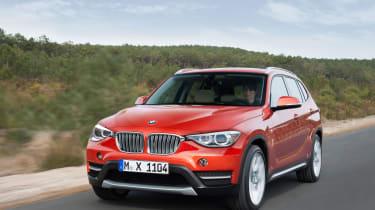 BMW X1 rendering