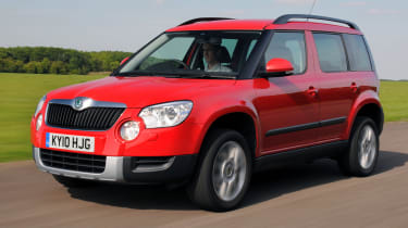 Best cars for under £5,000 - Skoda Yeti
