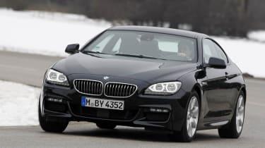 BMW 640d xDrive corner