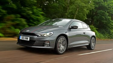 VW Scirocco GTS - front