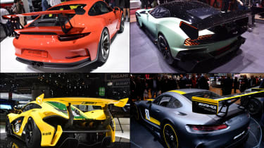 Rear wings at Geneva 2015