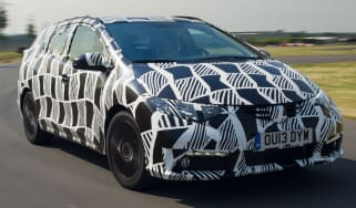 New Honda Civic Tourer front