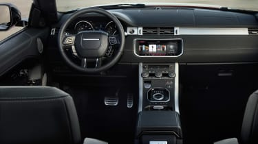 Range Rover Evoque Convertible interior