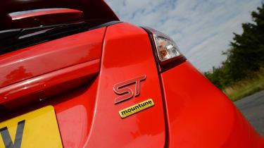 Ford Fiesta ST Mountune badge