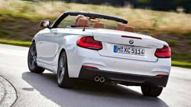 BMW 220d Convertible - rear cornering