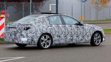New Mercedes C-Class - spy shot 11