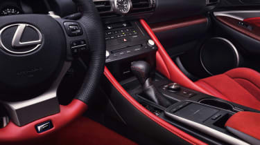 Lexus RC F Track Edition - interior detail