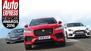New car awards 2016 header image