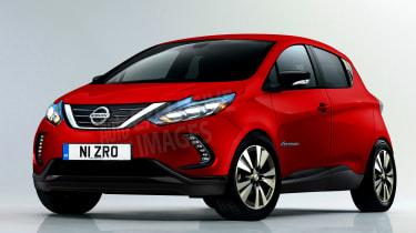 Nissan supermini electric car