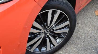 Honda Jazz long-term first report - wheel detail